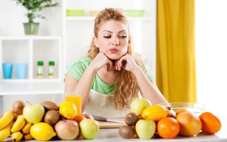 Các loại trái cây không nên ăn khi giảm cân