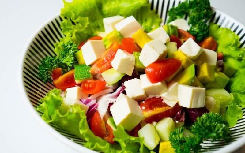 Salad đậu phụ
