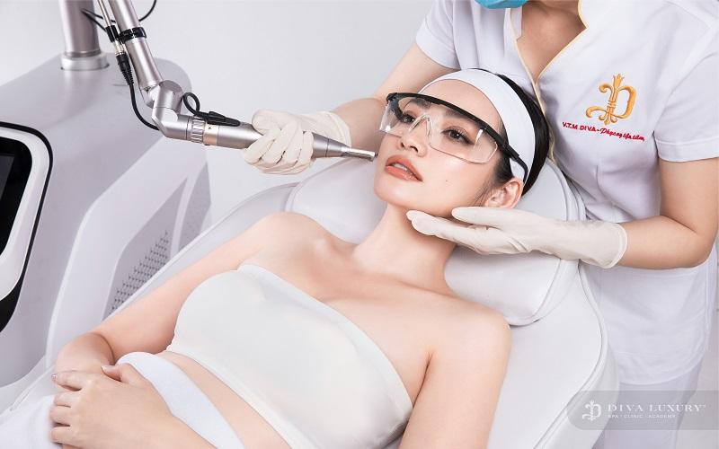 Công nghệ Laser Nd Yag được ứng dụng tại trị nám Đồng Nai DIVA LUXURY