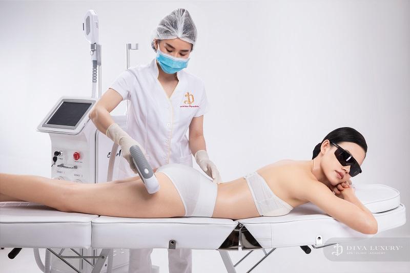 Hiện tại DIVA LUXURY triệt lông Đồng Nai đang ứng dụng công nghệ triệt lông Laser CO2 Fractional